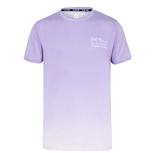 Hot Tuna Hombre Dip Dye Camiseta Manga Corta Rosa/Morado M