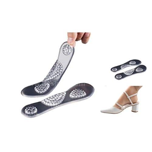Solette Gel da Donna con Supporto Plantare e Metatarso e Cuscinetto Tallone - Party Feet