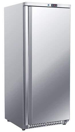 Kühlschrank - 600 Liter - mit 1 Volltür Edelstahl Gastro Lagerkühlschrank