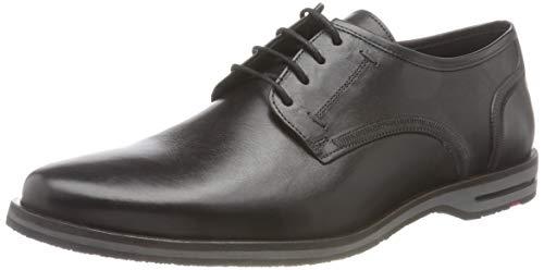 LLOYD Herren Detroit Uniform-Schuh, SCHWARZ, 40 EU