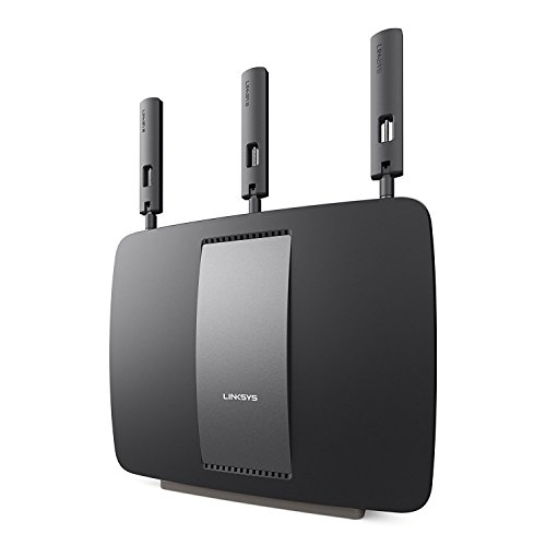 Linksys AC3200 Tri-Band Smart WiFi Router with Gigabit and USB, Designed for Device-Heavy Homes, Smart Wi-Fi App Enabled to Control Your Network from Anywhere (EA9200-RM2) (Renewed)