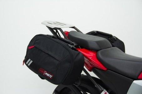 Juego de Maletas Textiles (Alforjas Laterales) Marca Fire Parts, Accesorio para Motocicleta Bajaj Modelos…