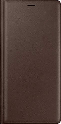 Leather Wallet Cover (EF-WN960) für Samsung Galaxy Note9 Brown