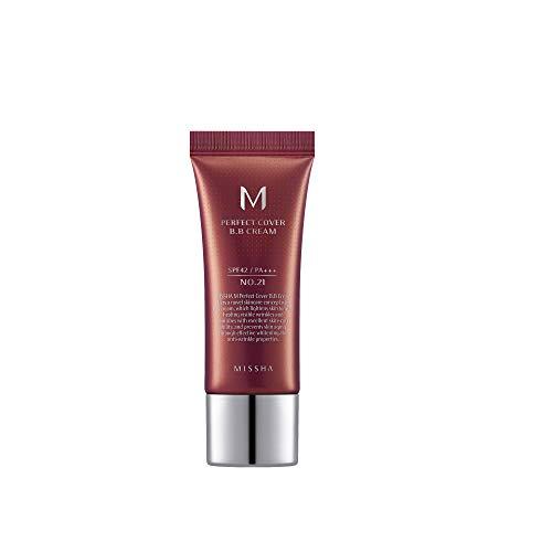 MISSHA M Perfect Cover BB Cream SPF42/PA+++No.21/Light Beige, 50 ml