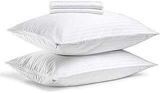Best queen pillow covers zippered Reviews
