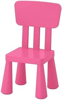 IKEA MAMMUT Chaise enfant enfants meubles Chaise dans kräftigem Rose en plastique unbedenklichem–Dimensions: 39x 36x ...