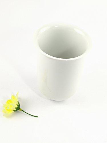 ABC_baño Vaso escobillero Pared Porcelana Liso