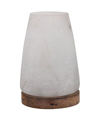 PTMD Windlicht 'White' aus Glas 28,5 cm