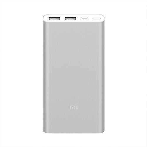Xiaomi Mi Power Bank 2S, Batería Portátil 10000Mah, Aleación De Aluminio, Micro...