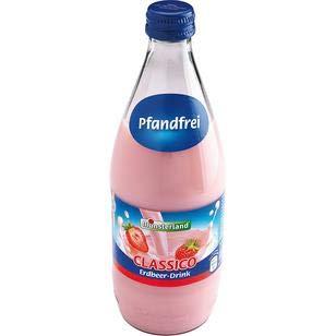 Münsterland Erdbeer Milch-Drink, 12er Pack, 12 x 500 ml