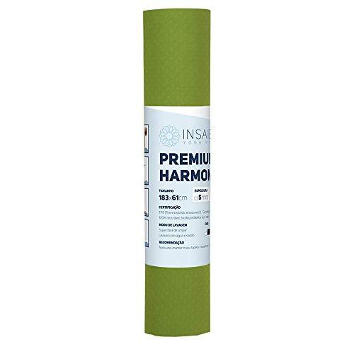Tapete de Yoga INSA ECO GRIP Reversível (6mm) 1 Cor (Verde)
