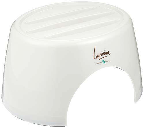リス風呂椅子『ユニバーサルデザインの浴用品』ラスレヴィーヌカウンタープラチナホワイト