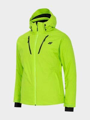 4 F Herren Ski-Jacke kanariengrün - S
