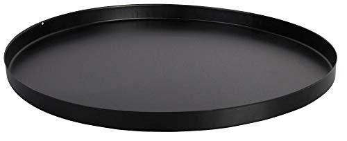 Esschert Design Bodenplatte, Bodenschutz für Feuerkorb oder Feuerstellen, rund, Ø ca. 48 cm