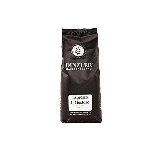 Dinzler Espresso Il Gustoso Espresso, café, gourmet koffie, als hele bont (1 kg hele bon)