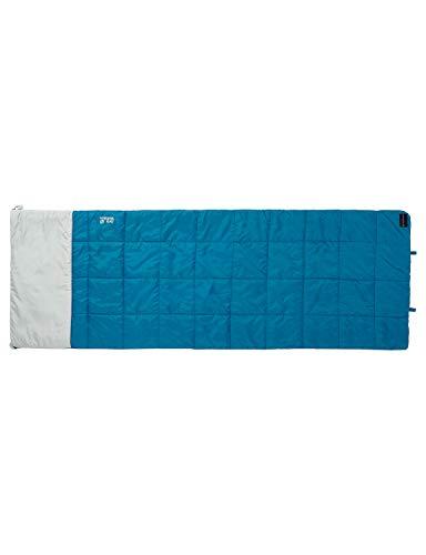 Jack Wolfskin Schlafsack 4-In-1 Blanket +5, dark turquoise, 36 x 21 x 21 cm, Liter