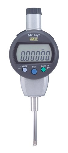 Mitutoyo 543-472BCAL Absolute Digimatic Indicator with Calibration, ID-C Standard Type, #4-48 UNF Thread, 3/8