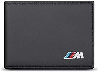 حافظة جلدية جلدية لترخيص القيادة بمحفظة BMW M Passport غطاء بطاقة الهوية البنكية حامل محفظة لبطاقة الهوية لشعار BMW M