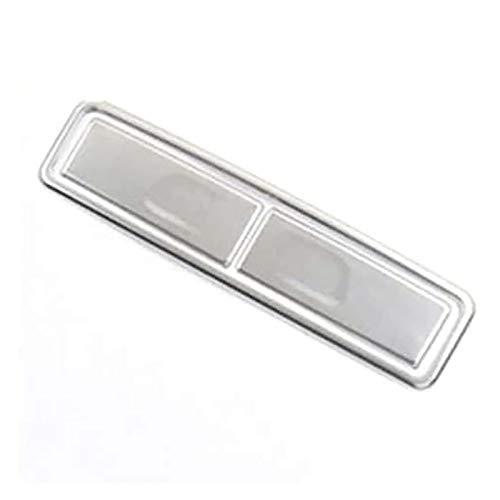 YYAN Cubierta trasera para taza de agua de coche, con lentejuelas, ajuste para Benz GLE GLS GLB Clase A W177 W167 acero inoxidable (Nombre del color: Sub Silver)