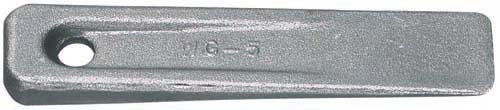 Williams Tools WG5 - WG-5 Set Up Wedge - Overall Length: 5', Overall Width: 1', Overall Height: 1/2'