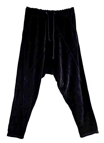 Wiya dames joggingbroek broek broek OneSize Beige Grijs mosterd Stretch Baggy LI165160896