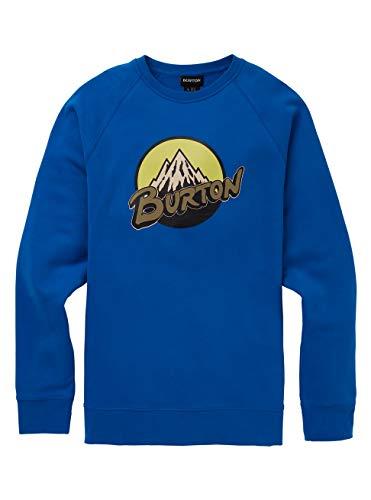 Burton Retro Mountain, Felpa Uomo, Lapis Blue, XS