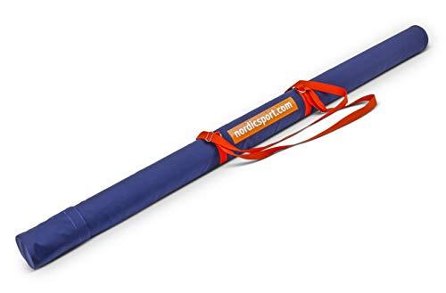 Nordic Transportröhre Elite für Sieben Speere bis zu 800 g - sehr robust - einstellbare Trageriemen - Speerwurf - SP-N-7900032