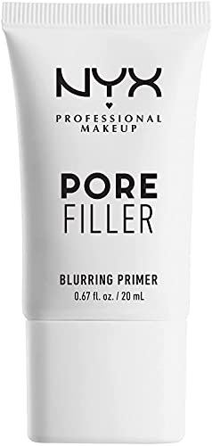 NYX Professional Makeup Prebase de maquillaje Pore Filler Primer, Minimiza poros y unifica la piel, Enriquecido con vitamina E, Fórmula vegana, 20 ml