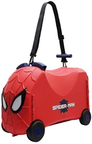 Ride-On Toy Box - Spiderman Toy Storage Case And Ride Along Toy by VR