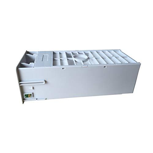 WSCHENG Tanques de Mantenimiento del Tanque de Tinta de desecho con Chip para EPSON 7890/9890/7908/9908/7900/9900/7910/9910/1180 Impresora