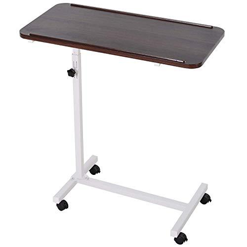 Mobiltelefon Bett Beistelltisch Sofa Seite Notebook Laptop Schreibtisch PC Ständer Höhenverstellbar Mit Feststellbaren 4 Rollen