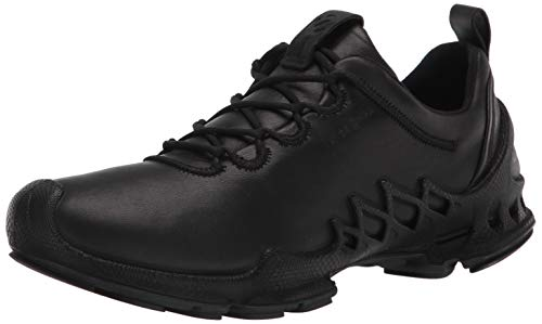 ECCO mens Biom Aex Luxe Hydromax Water-resistant Running Shoe, Black, 8-8.5 US