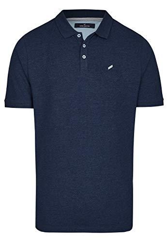 Daniel Hechter Herren Polo-Shirt Baumwoll-Jersey T-Shirt Blau XL