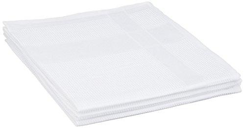 CALITEX Microfibre, Polyester, Blanc, 70x40 cm