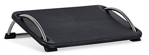 Mount-It! Tilting Footrest Under Desk | Ergonomic Office Foot Rest Adjustable | Computer Desk Foot Support | Large Platform Elevated Office Footrest