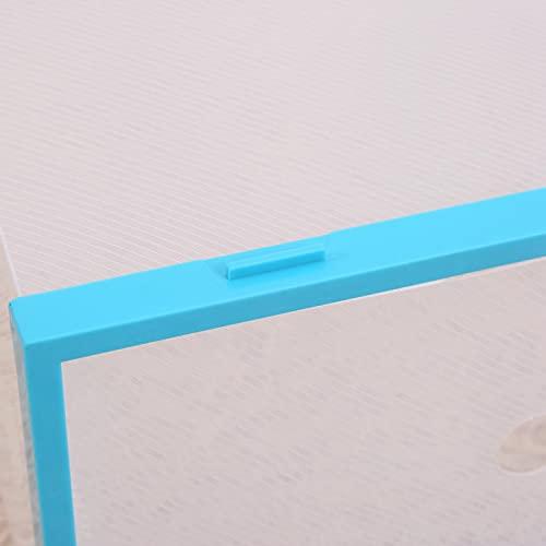 Uxsiya Cassettiera con porta apribile laterale (blu)