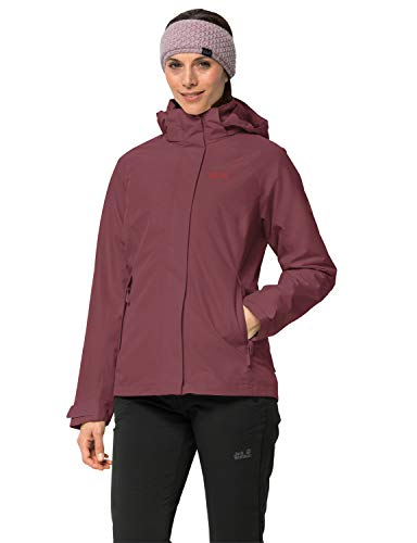 Jack Wolfskin Damen Iceland Voyage 3IN1 Women 3in1-jacke, Fall red, S