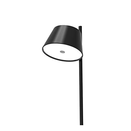 Lámpara Colgante 9 x E27 LED 18-42W con 3 Pantallas y difusor de metacrilato Opal, Modelo Tam Tam 3, Color Negro, 102,7 x 86 x 35 centímetros (Referencia: A633-001 39)