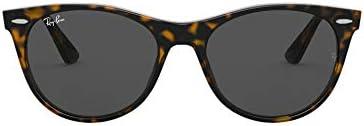 Ray Ban Men s RB2185 Wayfarer II Sunglasses Havana On Transparent Light Dark Grey 52 mm product image