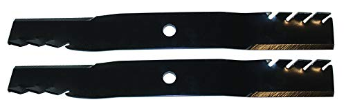 N2 (Pack of 2) Toothed Blades Replaces John Deere M170642.