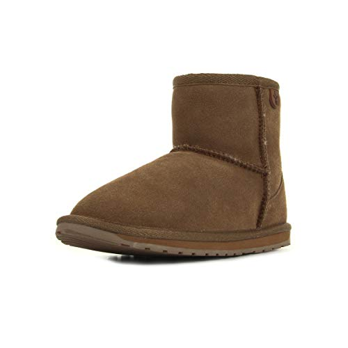 EMU Australia Wallaby Mini Teens Chestnut T10103CHESTNUT, Boots - 38 EU