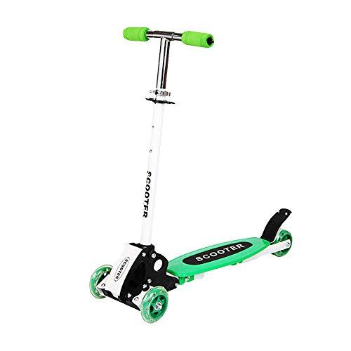 3-Rad-Roller Faltbarer Kinder-Roller Eisen Fahrrad PU Lift Allrad-Roller