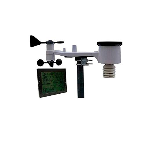 Tycon Power Systems Wireless Weather Station TP3000WC with Data Logging and Internet Clock