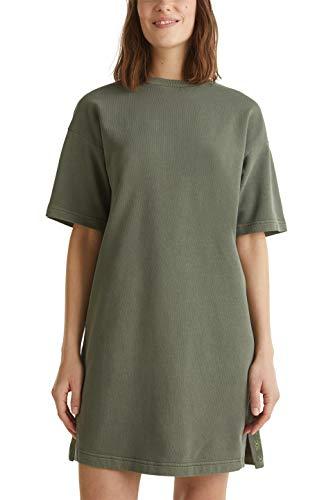 edc by ESPRIT Damen Esprit Kleid, Khaki 305, L