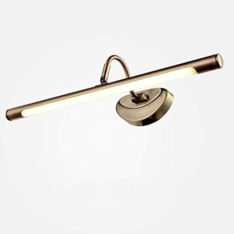 YNG Spiegel-Licht-Retro- Garten-Spiegel-Lampe, geführtes Spiegel-Licht, geführtes europisches Art-Kabinett-Licht-Badezimmer-Badezimmer-Spiegel-Licht, Das Tischlampe Kleidet