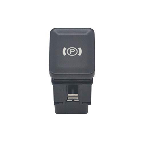 ZEALfix EPB Freno de Mano electrónico Interruptor de estacionamiento botón de Freno 3C0927225C para Passat B6 CC 3C