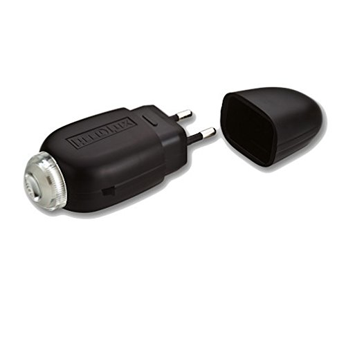 AccuLux 405281 - LED hand lamp LED 2000, Rechargeable in retro design. Timeless classic with state-of-the-art LED technology.