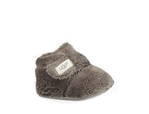 UGG Unisex-Baby Bixbee Bootie and Lovey Blanket Charcoal Boot - 2/3