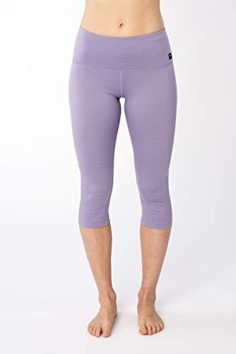 super.natural W Super Capri Pantalon Fonctionnel pour Femme M Wisteria