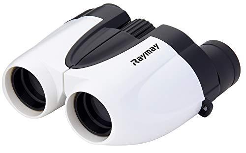 レイメイ藤井 双眼鏡 コンパクト 10倍 10×25 ポロプリズム ホワイト RXB459W